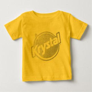 Krystal Logo Faded Baby T-Shirt
