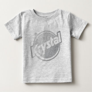 Krystal Logo Faded Baby T-Shirt