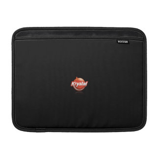 Krystal Logo MacBook Air Sleeve