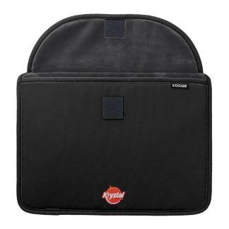 Krystal Logo MacBook Sleeve