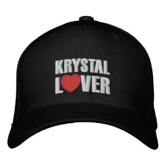 Krystal Lover Embroidered Cap