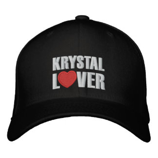 Krystal Lover Embroidered Cap