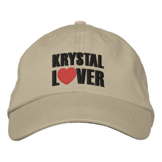 Krystal Lover Embroidered Hat