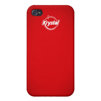 Krystal Red i Covers For iPhone 4
