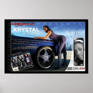 Krystal Stewart Poster