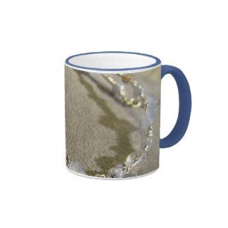 Krystals Blue Stars Ringer Mug