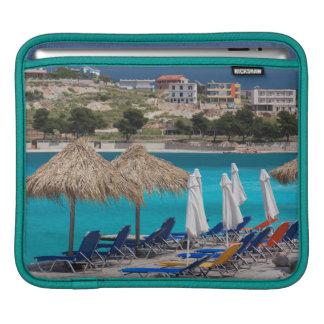 Ksamil, town beachfront iPad sleeve