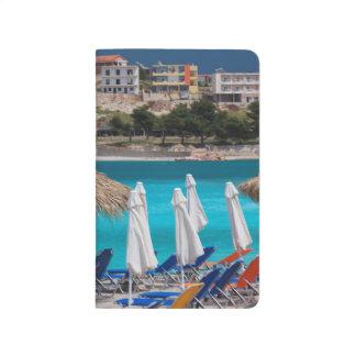 Ksamil, town beachfront journal