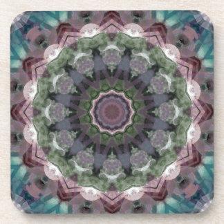 Kscope_WatercolorTealPink2 jpg Beverage Coasters