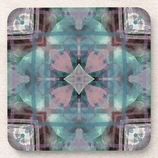 Kscope_WatercolorTealPink jpg Coaster