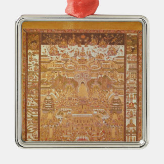 Kshitigarbha, Judge of Hell, from Dunhuang Christmas Ornament