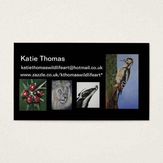 kthomaswildlifeart - Business Card