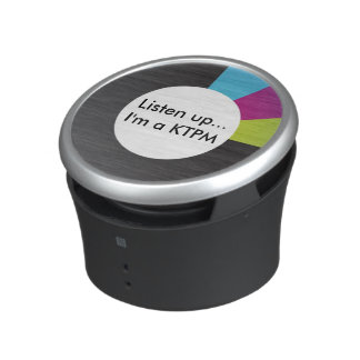 KTPMs get heard with a portable speaker