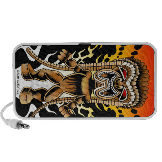 Ku, Hawaiian Tiki God Portable Speakers