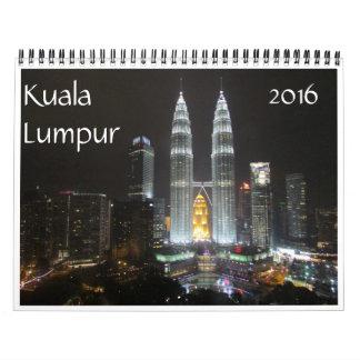 kuala lumpur 2016 wall calendar