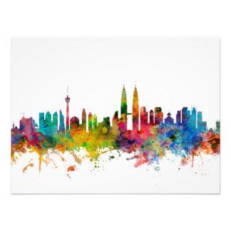 Kuala Lumpur Malaysia Skyline Photo Art