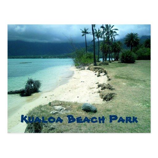 Kualoa Beach Park Postcard