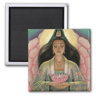Kuan Yin Goddess of Compassion Magnet