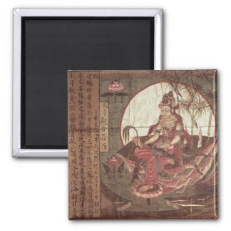 Kuan-yin, Goddess of Compassion Square Magnet
