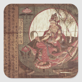 Kuan-yin, Goddess of Compassion Square Sticker