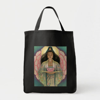 Kuan Yin Goddess of Compassion Tote Bag