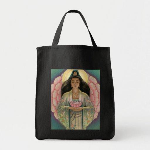 Kuan Yin Goddess of Compassion Tote Bag