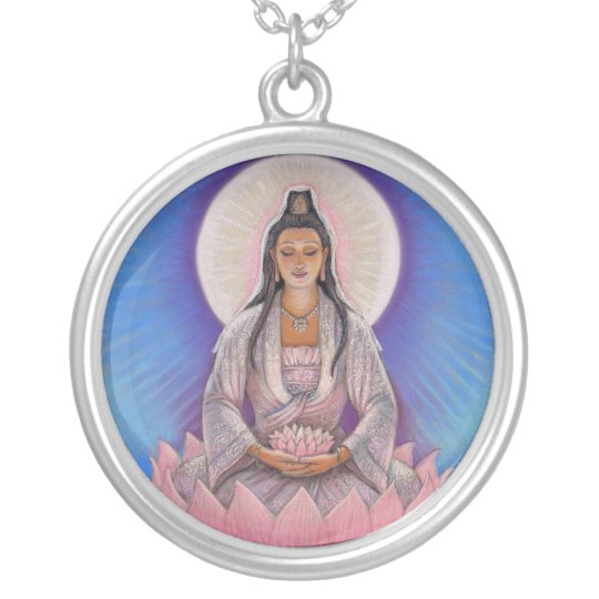 """Kuan Yin"" Necklace"