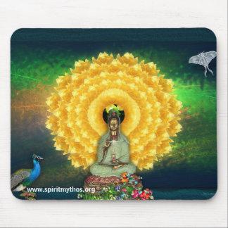 Kuan Yin Wall Tapestry Mouse Pad