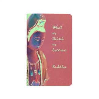 Kuan Yin with inspirational Buddha quote Journal
