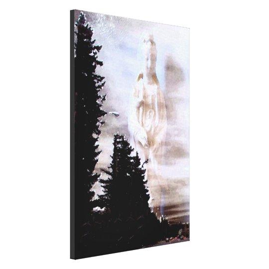 Kuan Yin Wrapped Canvas