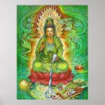 Kuan Yin's Water Dragon Poster