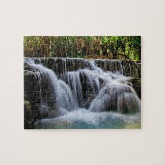 Kuang Si Falls 8x10 Jigsaw Puzzle