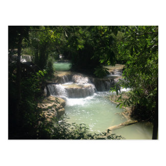 Kuang Si Waterfalls Postcard