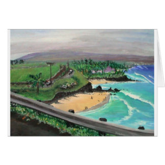 kuau cove 2 greeting card