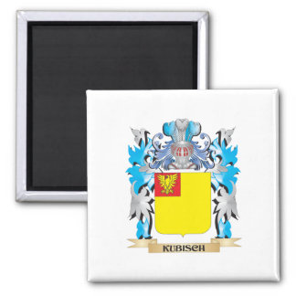 Kubisch Coat of Arms - Family Crest Square Magnet