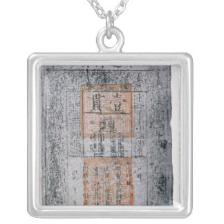 Kublai Khan , Emperor of China Silver Plated Necklace