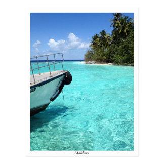 Kuda Bandos Island Postcard