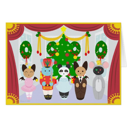 Kuddle Krew Nutcracker Suite Card