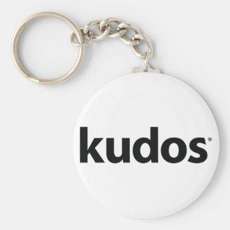 Kudos® Basic Round Button Key Ring