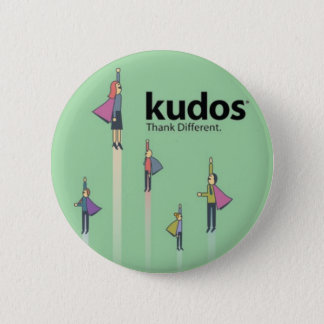 Kudos® Superhero 6 Cm Round Badge