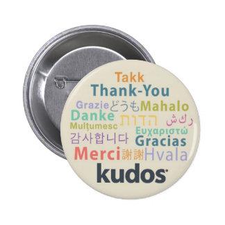 Kudos® Thank-you 6 Cm Round Badge