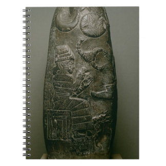 Kudurru of Nazimaruttash, King of Babylon, c.1328- Spiral Notebook