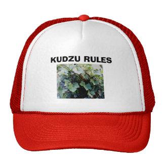 KUDZU RULES TRUCKER HATS