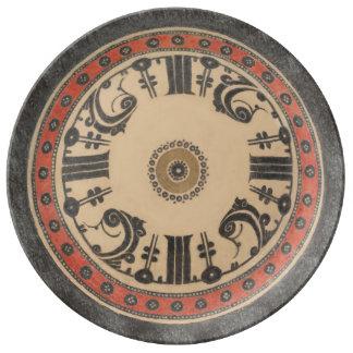Kufic Porcelain Plate