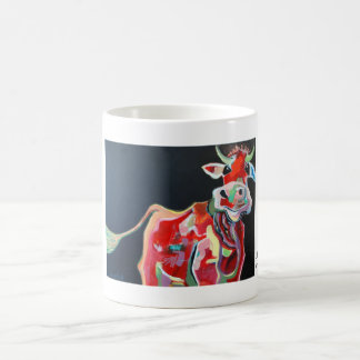 Kuhle cup: Loves cow Coffee Mug
