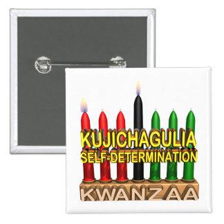 Kujichagulia Pinback Buttons