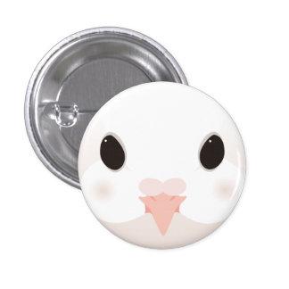 kujiyakubato - Fantail pigeon 3 Cm Round Badge