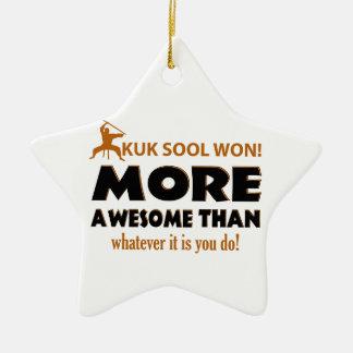 KUK SOOL WON designs Ceramic Star Decoration