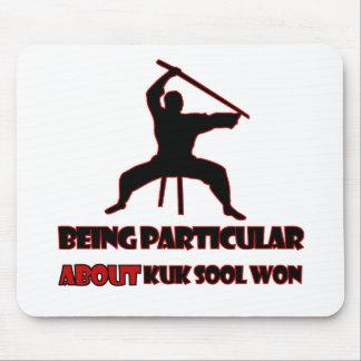 Kuk Sool Won Designs Mouse Pad