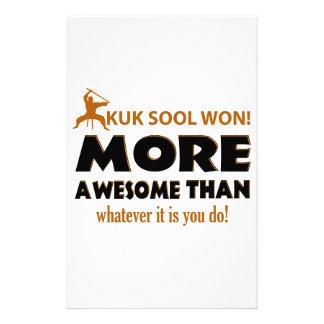 KUK SOOL WON designs Personalized Stationery